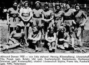 Damen 1935